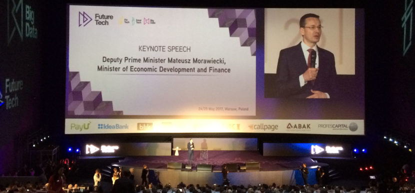 Deputy Prime Minister of Poland M.Morawiecki FutureTech Congress