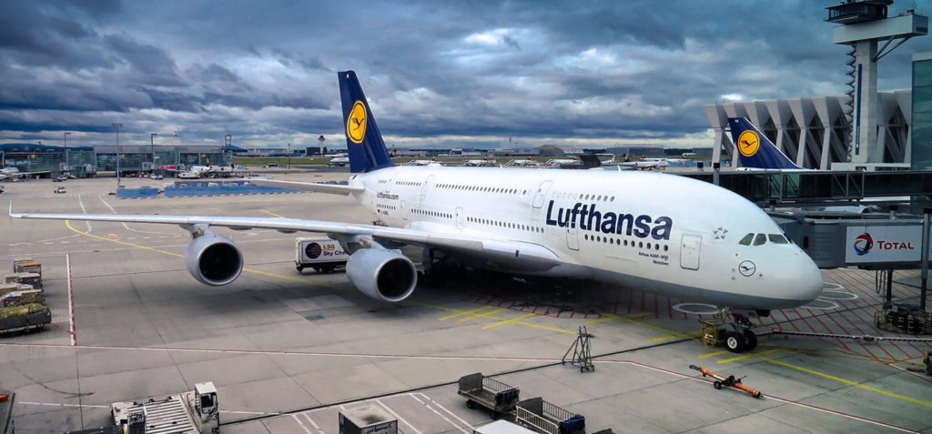 Lufthansa wita startupy 10 000 m nad ziemią