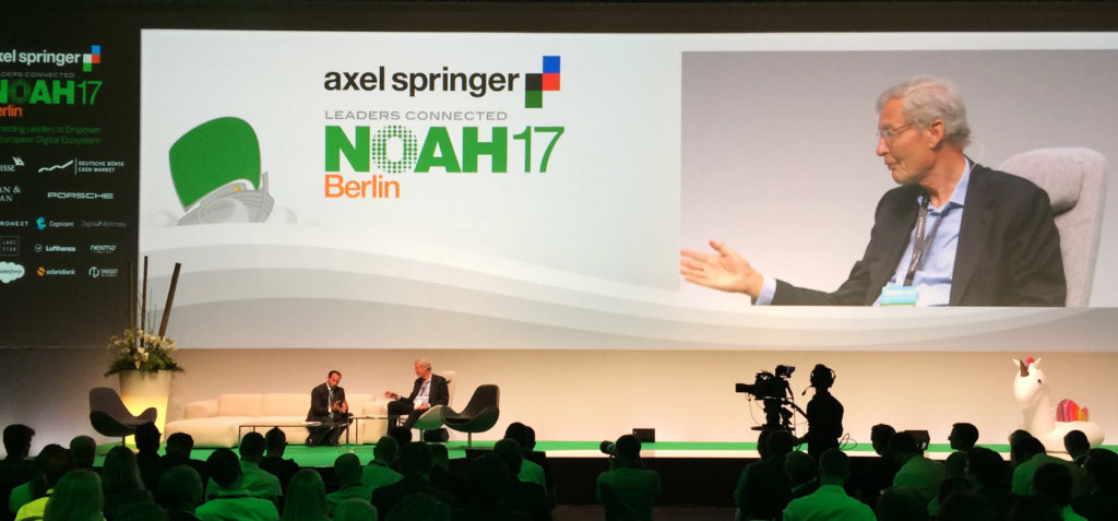 Industry 4.0 at NOAH17 Berlin