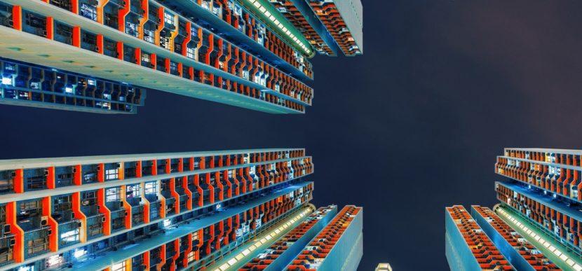 wieżowce i technologia maglev
